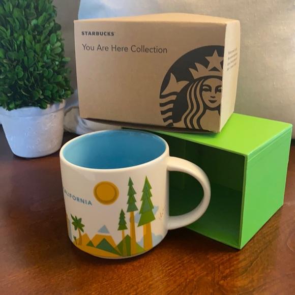 Starbucks California mug 2012